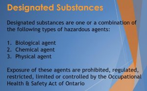 Designated Substance Reports